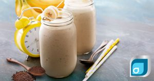 Banana Latte Power Smoothie