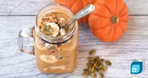 Pumpkin Pie Smoothie Jar